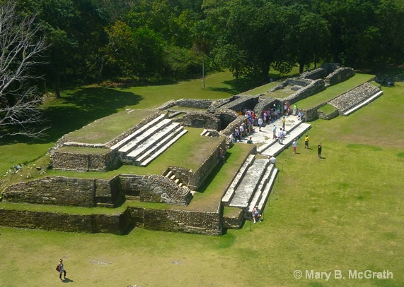 View of Altun Ha - ID: 11551372 © Mary B McGrath